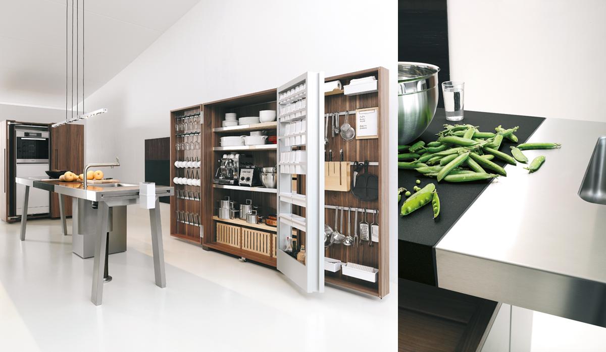 Bulthaup b2 bulthaup lausanne for Atelier cuisine lausanne